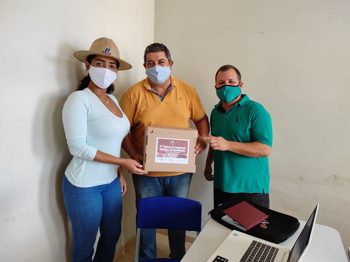 Secretaria de Agricultura de Teixeira de Freitas apoia organização do Concurso Regional Conilon de Qualidade
